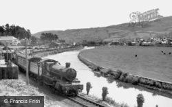 Dolgellau, The Railway 1955