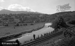 Dolgellau, The River 1955