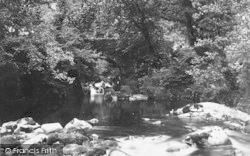 Dolgellau, Torrent Walk, Upper Bridge 1888