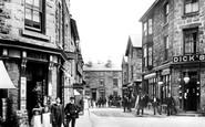 Dolgellau, Upper Smithfield Street 1908