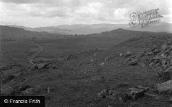 Dolgellau, View From Bwlch Dinas 1949