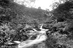 Dolgoch, Falls Footbridge 1925