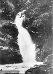 Dolgoch, Lower Fall And Pool c.1935