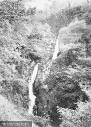 Dolgoch, Middle Falls c.1890