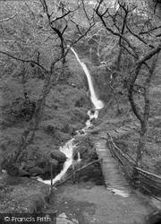Dolgoch, Rustic Bridge And Falls 1932