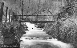 Dolgoch, Rustic Bridge c.1932