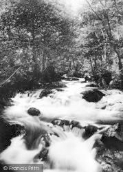 Dolgoch, Stream And Lower Falls 1938