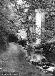 Dolgoch, Tal-Y-Llyn Toy Railway Bridge c.1950