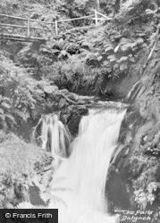 Dolgoch, The Falls c.1955