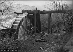 Dolgoch, Water Wheel 1932