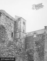 Dollar, Castle Campbell, Tower And 16th Century Staircase 1950