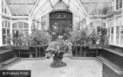 Dollarbeg, The Conservatory c.1955, Dollar