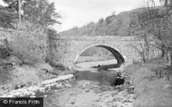 The Bridge, Muckart c.1950, Dollar