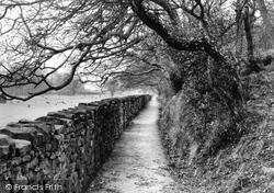 Dolphinholme, The Cinder Path c.1950