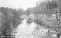 Dolphinholme, The River Wyre From The Bridge c.1950
