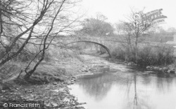 Dolphinholme, Wyre Bridge c.1950