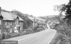 Dolwyddelan, Castle Terrace c.1955
