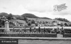 Dolwyddelan, General View c.1955
