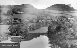Dolwyddelan, River Lledr c.1940
