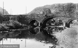 Dolwyddelan, The Bridge And Lledr c.1940