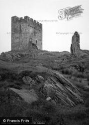 Dolwyddelan, The Castle 1952