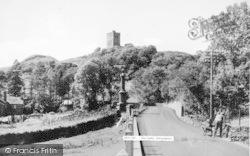 Dolwyddelan, The Castle c.1955
