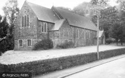 Dolwyddelan, The Elisabeth Church c.1955