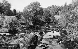 Dolwyddelan, The Lledr c.1950