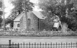 Dolwyddelan, The Old Church c.1955