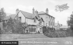 Dolywern, The Queen Hotel c.1955