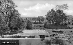 The Weir c.1955, Dolywern
