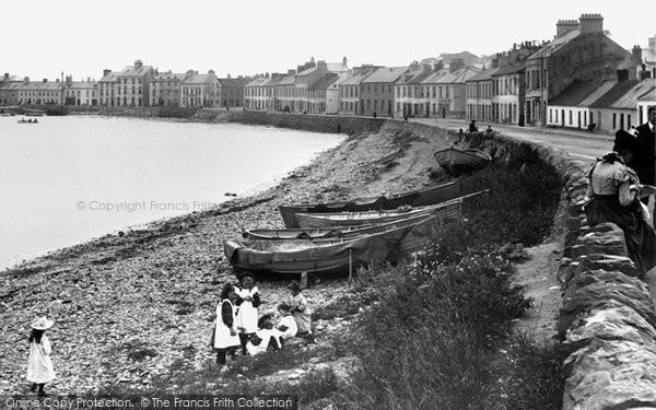 Photo of Donaghadee, Children On The Beach 1897
