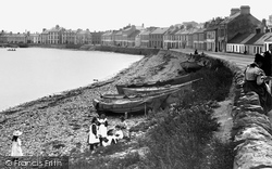 Children On The Beach 1897, Donaghadee