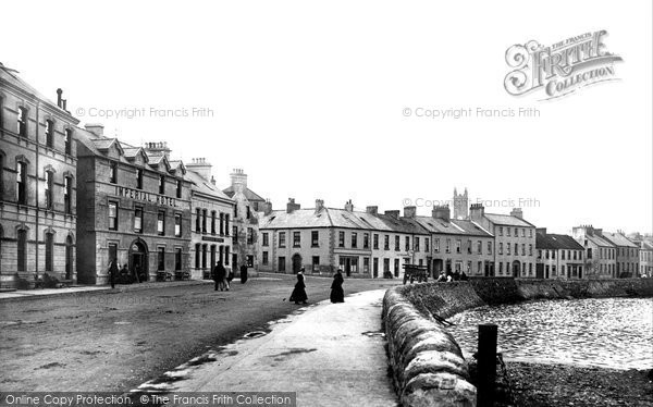 Photo of Donaghadee, The Seafront And Imperial Hotel 1897
