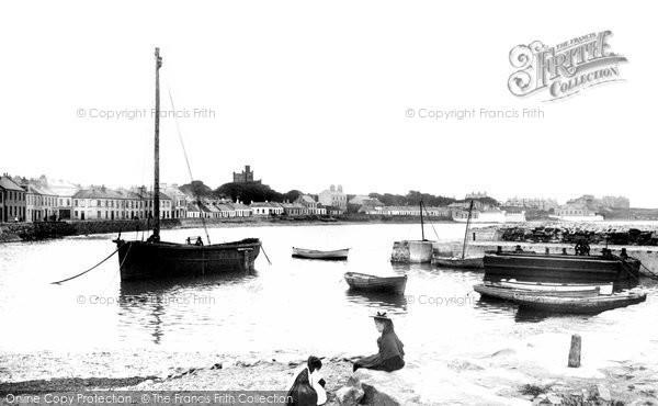 Photo of Donaghadee, Wharf 1897