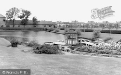 Doncaster, Children's Boating Lake, Sandall Park c.1965
