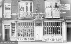Doncaster, Parkinson's Shop c.1895