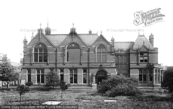 Photo of Doncaster, Public Library 1893