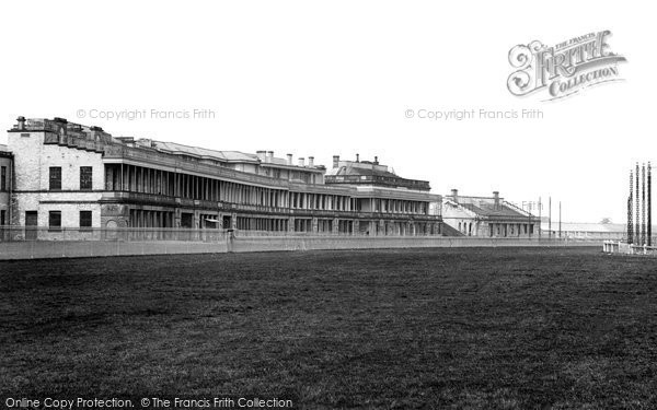 Photo of Doncaster, Racecourse And Grandstand 1895
