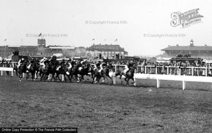 Photo of Doncaster, Racecourse, The St Leger c.1955