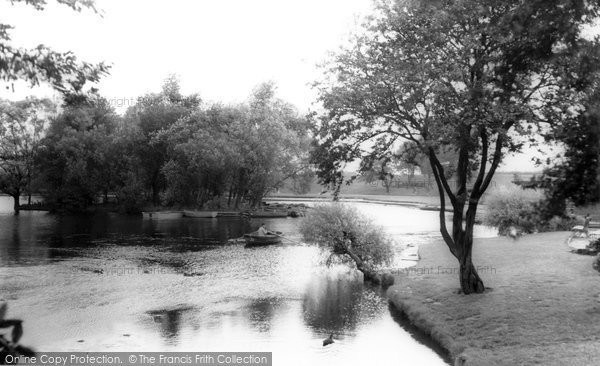 Photo of Doncaster, Sandall Park, The Boating Lake c.1965