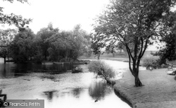 Doncaster, Sandall Park, The Boating Lake c.1965