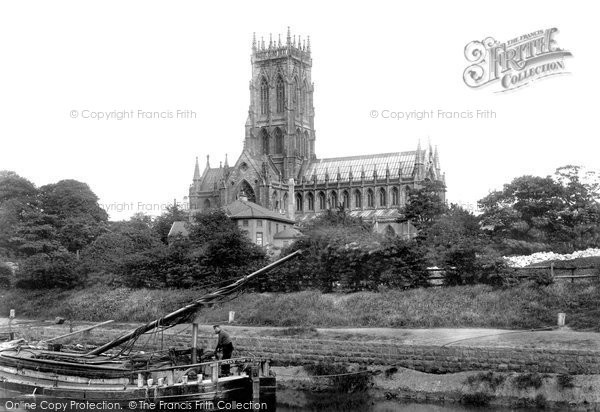 Photo of Doncaster, St George's Church 1900