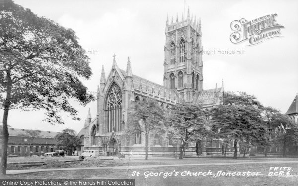 Photo of Doncaster, St George's Church c.1950