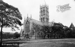 Doncaster, St George's Church From South West c.1955