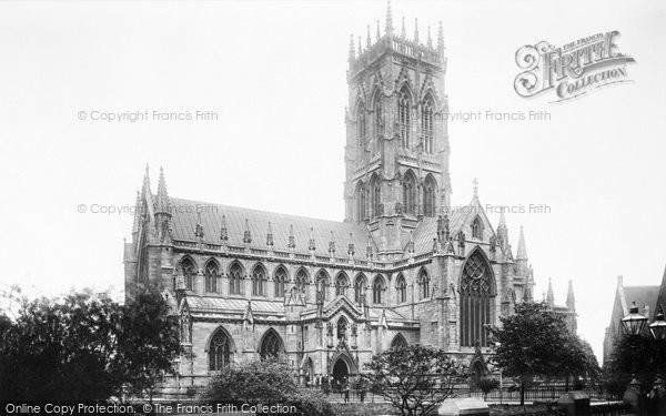 Photo of Doncaster, St George's Church From The South West 1893
