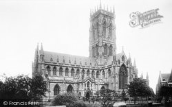Doncaster, St George's Church From The South West 1893