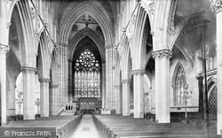 Doncaster, St George's Church Nave East 1893