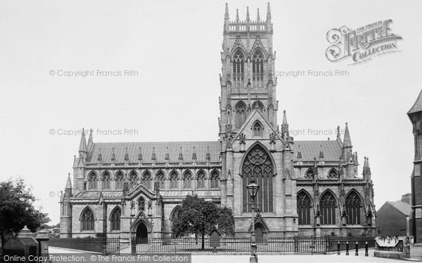 Photo of Doncaster, St George's Church South Side  1893