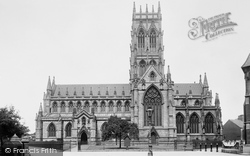 Doncaster, St George's Church South Side  1893